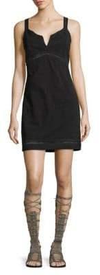 Free People Sleeveless Perforated Dress