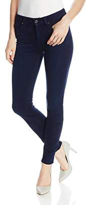 7 For All Mankind Women's Midrise Skinny-Slim Illusion Luxe Jean in
