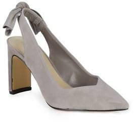 dacd79afca Lord & Taylor Suede Knotted Slingback Heels