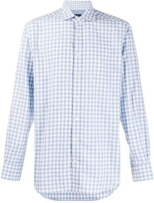 Hackett check long-sleeve shirt