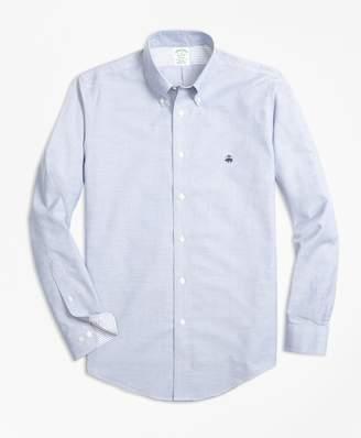 Brooks Brothers Non-Iron Milano Fit Supima Cotton Oxford Sport Shirt