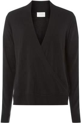 Dorothy Perkins Womens **Vila Black Knitted Wrap Top