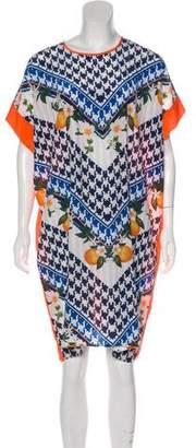 Emma Cook Silk Oversize Dress