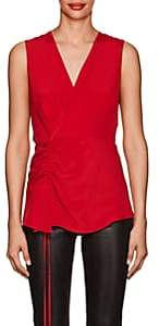 Derek Lam Women's Sleeveless Silk Blouse - Red