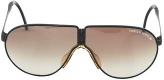 Porsche Design Black Metal Sunglasses