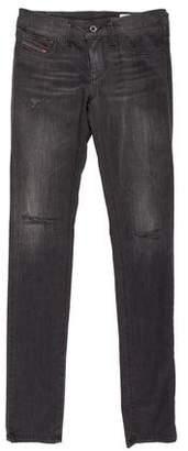 Diesel Distressed Skinny Jeans w/ Tags