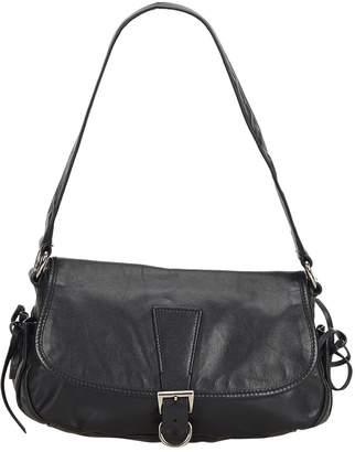 Prada Vintage Black Leather Handbag