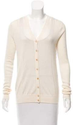 Derek Lam Silk-Accented Cashmere Cardigan w/ Tags