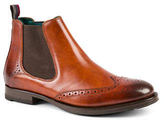 Ted Baker Camheri Wing Tip Leather Chelsea Boots