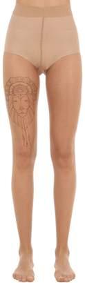 Wolford Melina Wendlandt Tattoo Tights