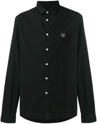 Kenzo logo long-sleeve shirt