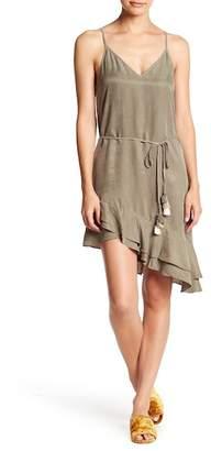 Young Fabulous & Broke YFB by Orchard Asymmetrical Ruffle Hem Dress