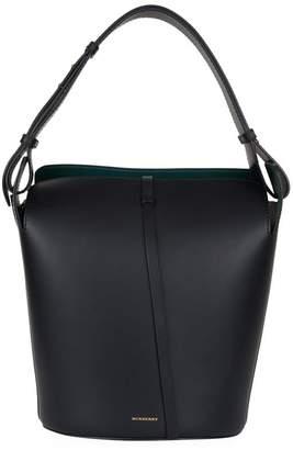 Burberry Medium Leather Bucket Bag