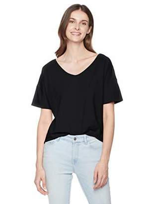 Ruby Diva Women's Loose Tee with Tie at Back M