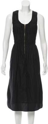 Sonia Rykiel Ruched Midi Dress