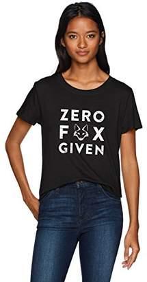 Sub Urban Riot Sub_Urban RIOT Women's Zero Fox Given Loose Tee