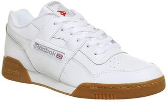 4d9c37ad260 Reebok Workout Plus Trainers White Carbon Gum
