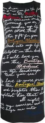 Moschino Love Letter print T-shirt