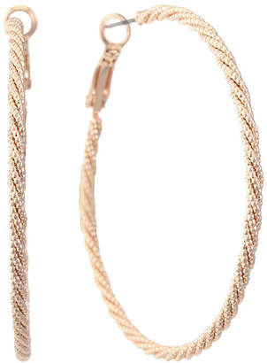 Gloria Vanderbilt 51.6mm Hoop Earrings