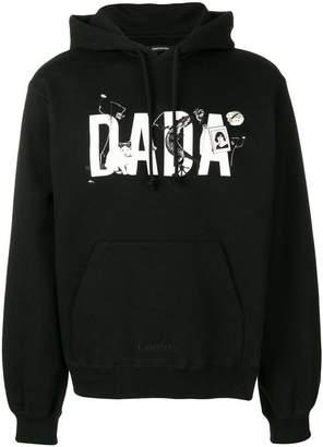 Christian Dada logo hoodie