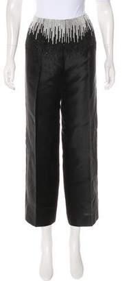 Valentino Embellished Flared Pants