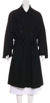 Nili Lotan Double-Breasted Long Coat