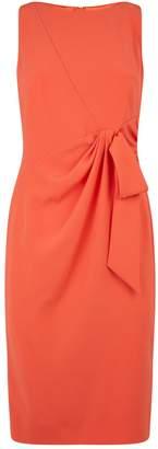 Paule Ka Satin Bow Dress