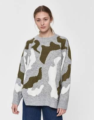 Farrow Dora Camo Boyfriend Sweater