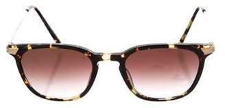 Barton Perreira Tortoiseshell Square Sunglasses