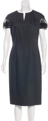 Blumarine Wool Casual Dress