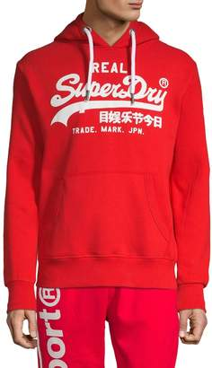 Superdry Graphic Logo Cotton-Blend Hoodie