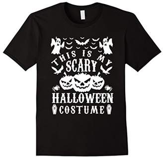 The Official This is my Scary Halloween Costume Tee Shirt