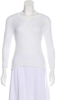 MICHAEL Michael Kors V-Neck Knit Sweater