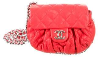 Chanel Small Chain Around Messenger Bag Red Small Chain Around Messenger Bag