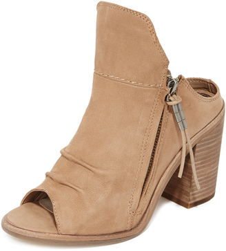 Dolce Vita Lennox Open Toe Booties $180 thestylecure.com