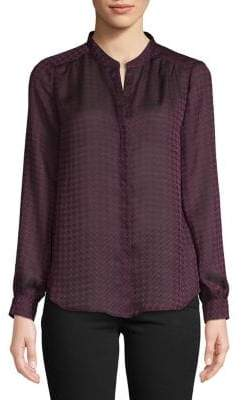 Joie Printed Long-Sleeve Shirt
