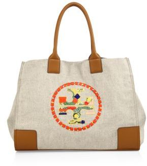Tory BurchTory Burch Ella Embroidered Logo Tote