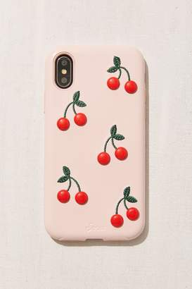 Urban Outfitters Patent Cherry iPhone X Case