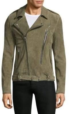 IRO Belted Leather Motor Jacket