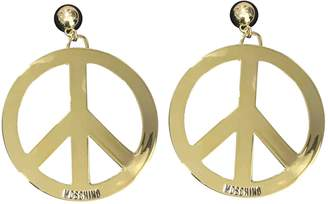 Moschino For H&M For H&m Gold Metal Earrings