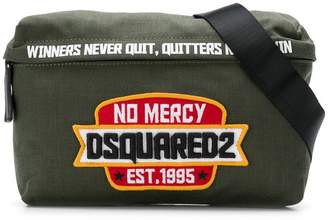 DSQUARED2 logo badge belt bag