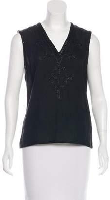 Michael Kors Embellished Sleeveless Top