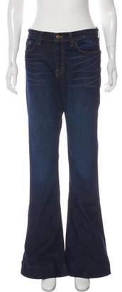 J Brand High-Rise Wide-Leg Jeans