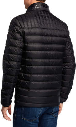 Modern American Designer Men's Packable Down Puffer Jacket