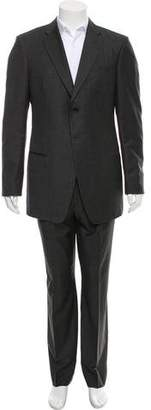 Giorgio Armani Wool Two-Button Suit