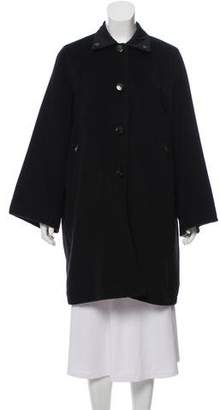 Max Mara Reversible Wool Coat