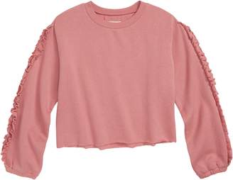 Tucker + Tate Ruffle Sleeve Sweatshirt