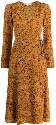 Vanessa Bruno floral wrap dress