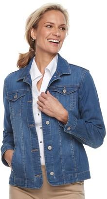 Croft & Barrow Women's Button-Down Jacket