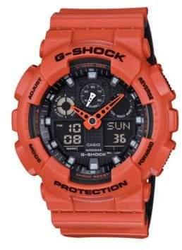 G-Shock Analog-Digital Resin Strap Watch